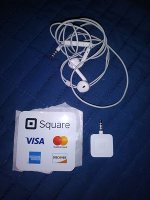 Square reader&iphone earbuds for Sale in Wyomissing, PA