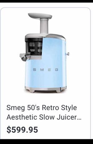 Smeg Retro Slow Juicer for Sale in Los Angeles, CA