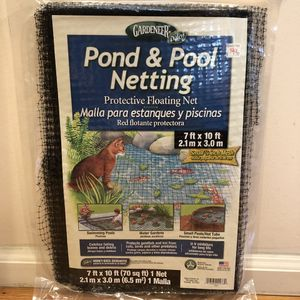 New Pond & Pool Netting. Protective Net for Sale in Kirkland, WA