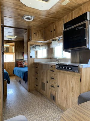 26' Vintage 1978 Ideal Travel Trailer Camper | Retro RV is Restored and in pristine condition for Sale in Las Vegas, NV