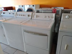 KENMORE WASHER AND GAS DRYER SET for Sale in Westminster, CA