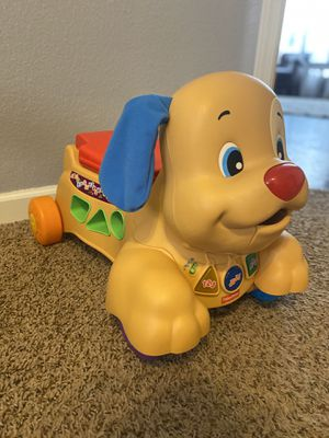 Fisher Price Puppy ride on toy for Sale in Queen Creek, AZ