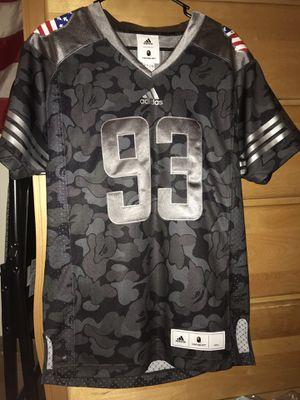 Brand new Bape x Adidas Super Bowl Jersey RARE BLACK CAMO for Sale in Oakhurst, NJ