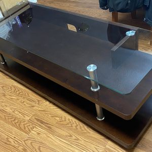 Glass Tv Stand for Sale in Milwaukie, OR