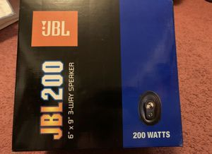"JBL Speaker (Set of 2pcs) (6"" x 9"") (New) for Sale in Stockton, CA"