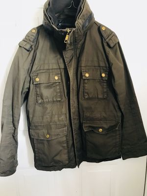 H&M's jackets with hoodie. Size M, Olive green. for Sale in Ashburn, VA