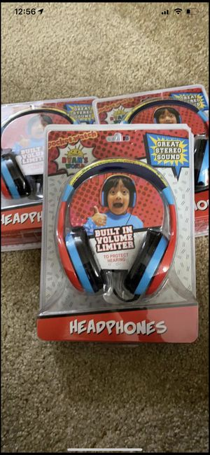 Ryan's world Headphones for Sale in St. Peters, MO