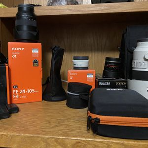 Sony A6500 And Lenses For Sale for Sale in Riverside, CA