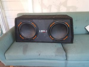 SDX Pro audio car speaker system built in amplifier 1200 Watts works great only used 3months for Sale in Miami, AZ