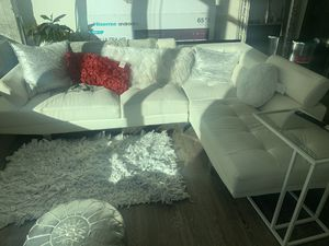 White Sectional Couch for Sale in Atlanta, GA