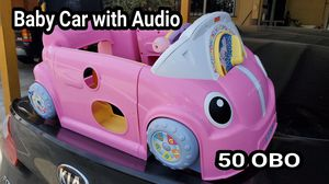 Baby Car with Lights and Audio for Sale in Riverside, CA