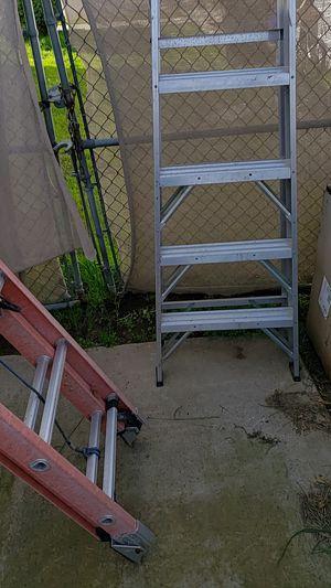 Werner 8' aluminum A Frame ladder for Sale in San Diego, CA