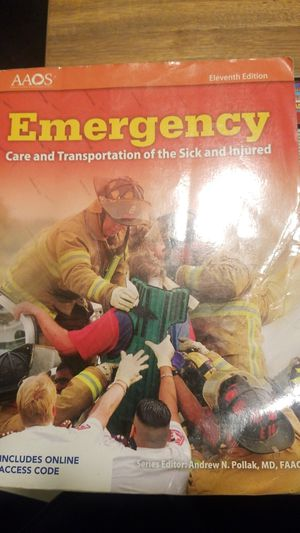 Emergency care transportation of the sick and injured for Sale in Sacramento, CA