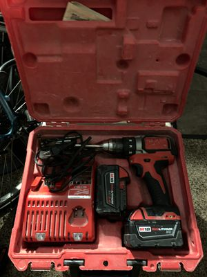Milwaukee m18 drill and charger n battery for Sale in Seattle, WA