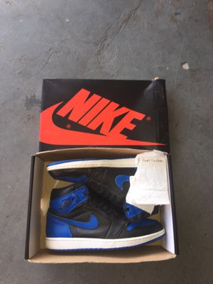 Royal blue Jordan 1's Size 11 for Sale in Land O Lakes, FL