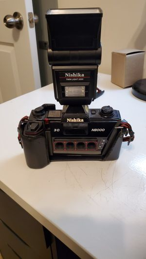 Nishika n8000 3D Stereo FIM Camera w/Twin Light Flash for Sale in Waldorf, MD