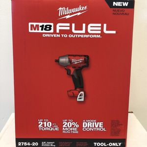 """New Milwaukee 18V 2754-20 FUEL 3/8"""" Brushless Impact Wrench M18 Cordless Brand NEW for Sale in Brooklyn, NY"""
