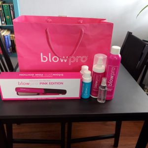 BLOWPRO -Hair straightener Bundle- pink edition for Sale in Long Beach, CA