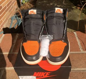 Air Jordan 1 Shattered backboard size 8 for Sale in North River, ND