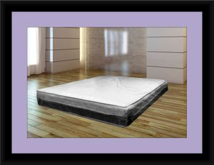 Singlesided pillowtop mattress with box spring for Sale in Fairfax, VA