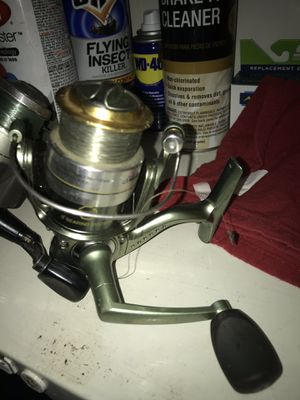 Two fishing reels for Sale in Cummington, MA