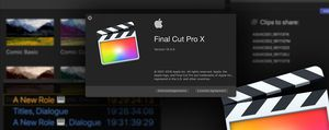 Final Cut Pro X 10 for Sale in Burbank, CA
