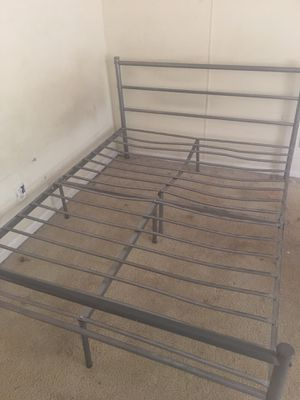 Full size metal bed frame for Sale in New Waverly, TX