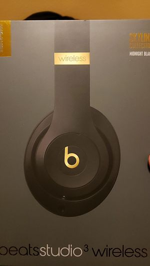 Midnight Black Studio Wireless Beats for Sale in Kent, WA
