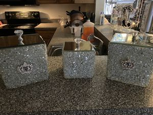 My glam home decor Canister set for Sale in Hyattsville, MD