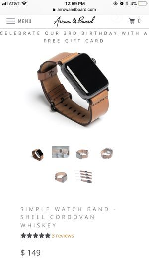 Leather Apple Watch band for Sale in Austin, TX