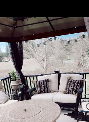 Outdoor patio love seat couch for Sale in Index, WA