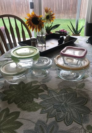 Glass storage containers for Sale in Yelm, WA