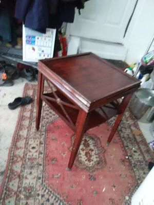 Antique table with wheels for Sale in Abingdon, MD