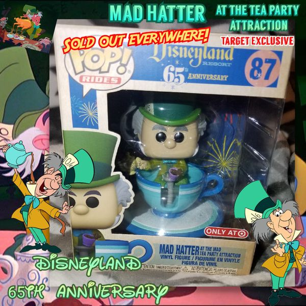 Funko Pop Mad Hatter