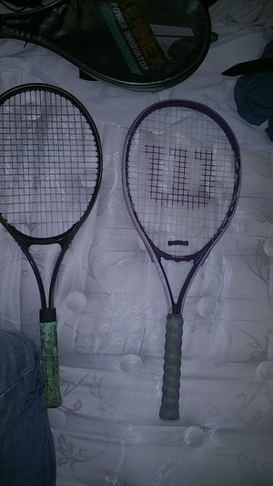 (Girl&guy)Wilson and kennex brand tennis rackets(used) for Sale in Philadelphia, PA
