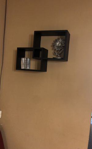 Two nice black wall shelves for Sale in Dublin, OH