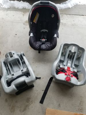 Graco infant car seat + 2 bases! for Sale in Layton, UT