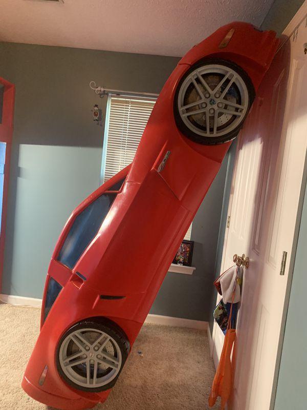 Corvette kids car bed