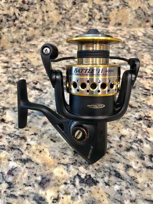 New Penn Battle II 4000 Fishing Reel for Sale in NEW PRT RCHY, FL