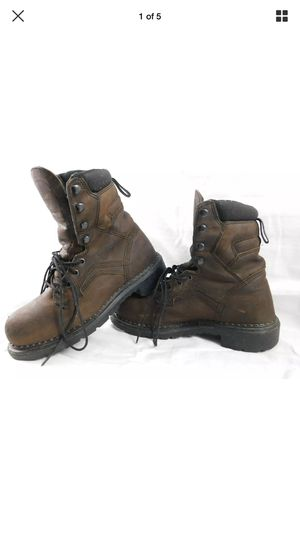 Women's 7.5 red wing work boots for Sale in Jewett, OH