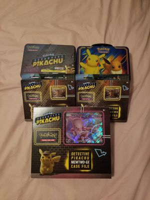 Unopened Detective Pikachu Assorted Pokemon for Sale in Brooklyn, NY
