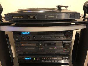 MARANTZ LEGACY MUSIC RACK SYSTEM. GREAT CONDITION. HI-FI SOUND SYSTEM. for Sale in Orlando, FL