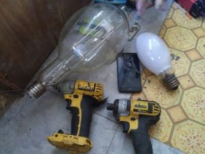 Two power drills floodlight in a motel for Sale in Odessa, TX