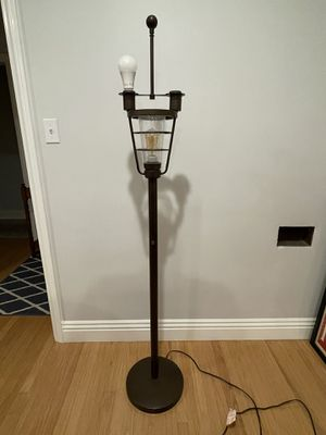 Steampunk / industrial floor lamp for Sale in Fullerton, CA