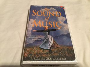 The sound of music vhs for Sale in Scottsville, VA