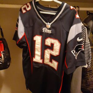 Medium Tom Brady Patriots Stitched Jersey for Sale in Indianapolis, IN