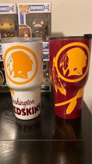 Washington redskin yeti cups for Sale in La Plata, MD