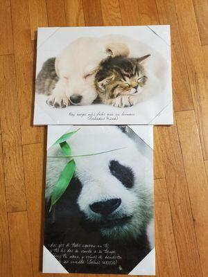 Christian animal frames/ Spanish for Sale in Gaithersburg, MD