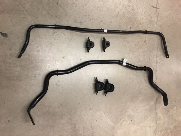 2015-2017 Ford Mustang GT OEM Front and Rear Sway Bars and Bushings