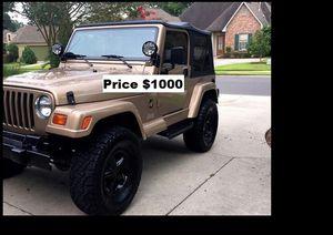 ֆ1OOO_1999 Jeep Wrengler for Sale in Ontario, CA